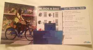 citibank welcome package contents