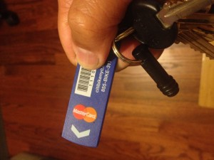 citi bike keychain device