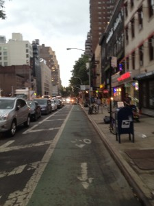 bike land on eighth avenue