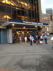 penn station entrance