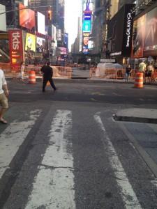 bike lane ends on broadway