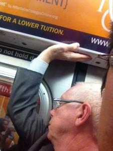 dude who shoved me on the E train