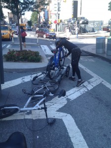 bike rebalancer doing a good job