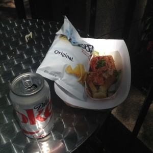 lobster roll in the city