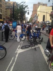 scramble to get a citi bike