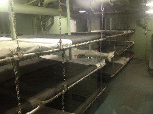 bunks in the intrepid