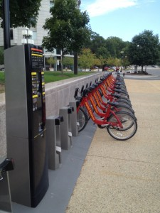 bike station at foggy bottom