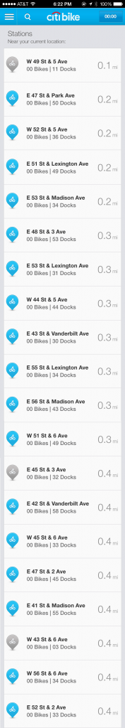 citibike fail