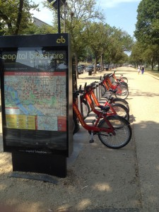 capital bikeshare by the smithsonian