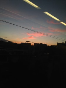 unrise on the lirr