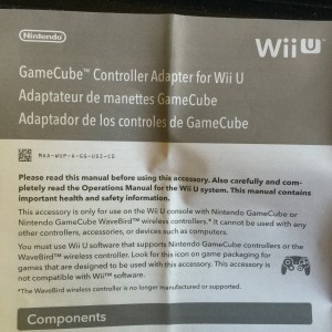 gamecube adapter manual
