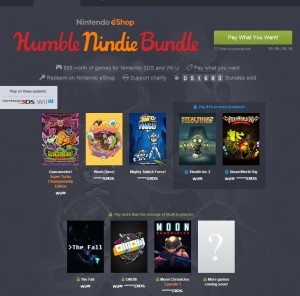 humble bundle for wii u and 3ds