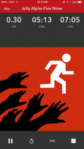 run zombies screen