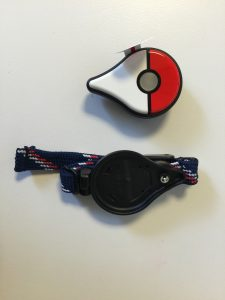 pokemon go plus device and wrist strap