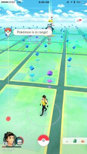 pokemon go plus encounters a pokemon in range