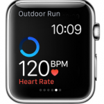 heart rate on apple watch
