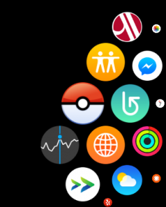 pokemon go icon on apple watch